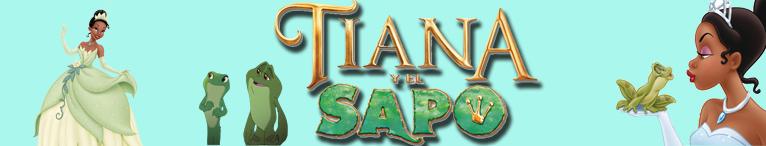 <div>Disney. Tiana y el sapo</div>