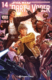 Star Wars Darth Vader nº 14 (Vader derribado 4 de 6)