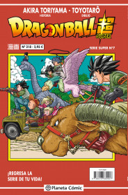 Dragon Ball Serie roja nº 218