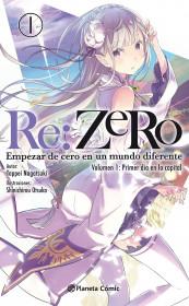 Re:Zero (novela) nº 01