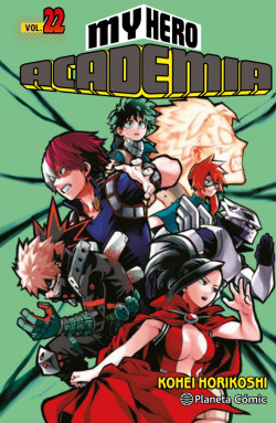 My Hero Academia nº 22