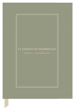 Cuaderno creativo Alejandra G. Remón 'Desórdenes'