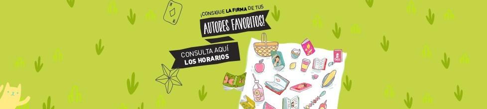 Firmas Feria del libro de Madrid