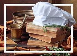 Selección de libros sobre cocina y literatura